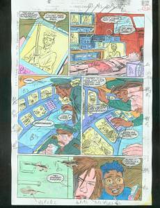 ORIGINAL D.C. COLOR GUIDE ROBIN ANNUAL #2 PG 52-SIGNED VG