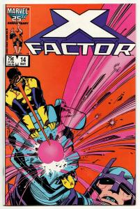 X-Factor #14 (Marvel, 1987) FN