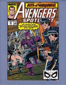 Avengers Spotlight #28 NM- Marvel 1990