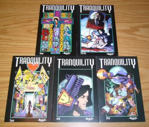 Tranquility #1-4 VF/NM complete series + variant - fred van lente comics 2 3 set