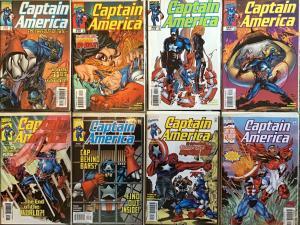 CAPTAIN AMERICA VOLUME 3 1998 MARVEL #18-25 NM CONDITION