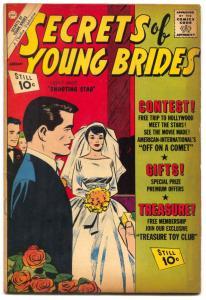 Secrets of Young Brides #29 1962- Charlton Romance VG+
