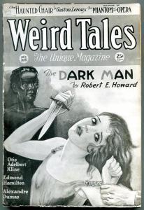 Weird Tales Pulp December 1931- Robert E Howard- Coverless reading copy