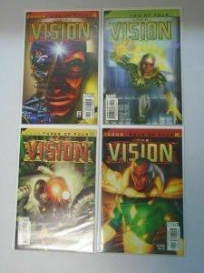 Vision set #1-4 8.0/VF (2002)
