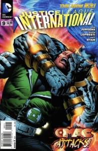 Justice League International (2nd Series) #9 FN; DC | save on shipping - details