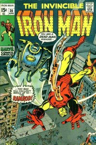 Iron Man (1st Series) #36 FN; Marvel | save on shipping - details inside