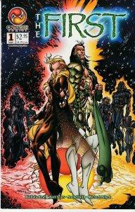 The First(Crossgen) # 1,2,3, 4  Gods of the Crossgen Universe !