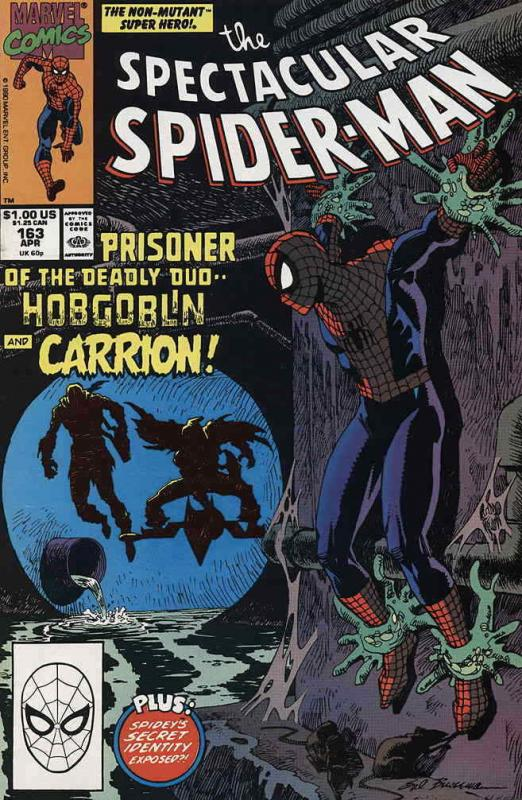 Spectacular Spider-Man, The #163 VF/NM; Marvel | save on shipping - details insi