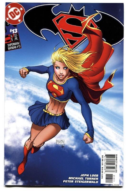 Superman/batman #13-Kara Becomes Supergirl-2004