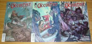 the Occultist #1-3 VF/NM complete series - tim seeley - dark horse comics occult
