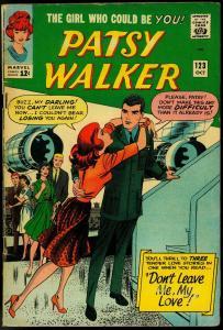 PATSY WALKER #123 1965-MARVEL ROMANCE-STAN LEE VG