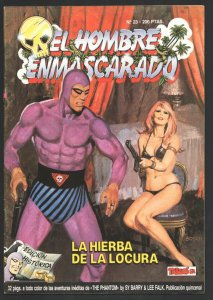 EL Hombre Enmascarado #23 1988-Colosus-Magazine format-Color interior-Spanish...