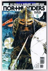 NORTHLANDERS #6, NM, Vikings, Vertigo, Brian Wood, 2008, more in store