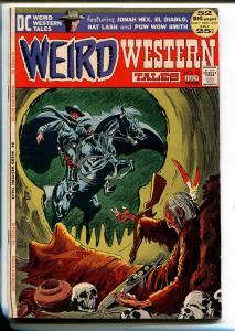 WEIRD WESTERN TALES #12 1972-DC-NEAL ADAMS- EL DIABLO-JONAH HEX-WRIGHTSON-vf-