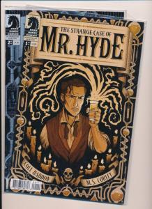 The STRANGE CASE of MR. HYDE #1,2  ~ Dark Horse Comics ~ NM (HX407)