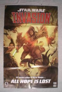 STAR WARS INVASION Promo Poster, 22x34, 2009, Unused, more Promos in store