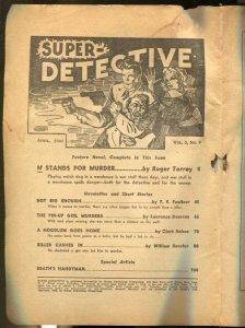 Super-Detective 4/1944-Trojan-pulp thrills-Roger Torrey-Laurence Donovan-P