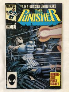 PUNISHER #1 - VOLUME 1 : CIRCLE OF BLOOD Mini-Series (1986) - Marvel