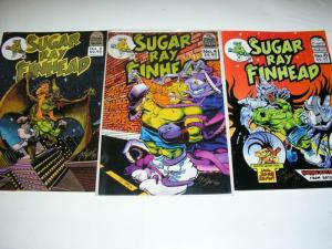 SUGAR RAY FINHEAD (1992 WOLF PRESS)  2,4,6 (signed)