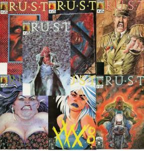 RUST (1989 N) V 2# 1-7  Complete 2nd Series!