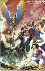 Justice League #59 (2021)- Superman,Black Adam,Hawkgirl, Aquaman - variant cover