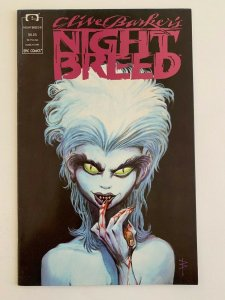 Clive Barker's Night Breed Comic Book #8 Epic Comics 1991 VF+