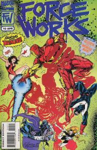 Force Works #10 FN; Marvel | save on shipping - details inside
