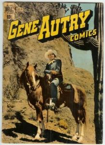 GENE AUTRY (1943-1959 FAWCETT/DELL) 29 GOOD PHOTOCOVER COMICS BOOK