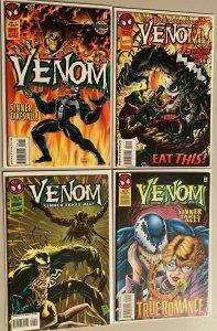 Venom sinner takes all ! lot#1,2,4,5 8.0 VF (1995)
