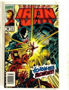 Iron Man # 302 VF/NM Marvel Comic Book Avengers Hulk Thor Captain America J462