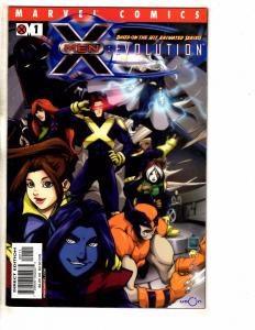 Lot Of 9 X-Men Evolution Marvel Comic Books # 1 2 3 4 5 6 7 8 9 Wolverine J258
