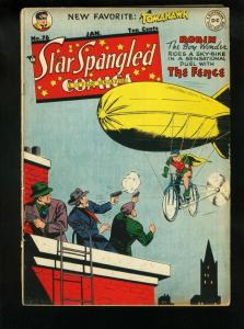 STAR SPANGLED COMICS #76 1948-ROBIN-ZEPPELIN-TOMAHAWK ! FN/VF