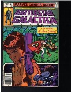 Battlestar Galactica #22 (Marvel, 1980)