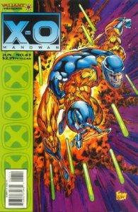 X-O Manowar (1992 series) #43, NM- (Stock photo)