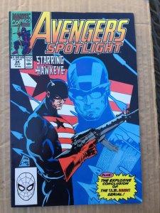 Avengers Spotlight #34 (1990)