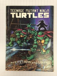 Teenage Mutant Ninja Turtles 1-4 First Comics magazines