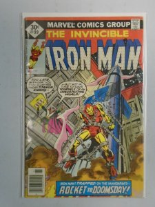 Iron Man #99 Direct edition 4.0 VG (1977 1st Series)