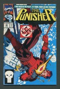 Punisher #46 / 9.0 VFN/NM  Newsstand March 1991