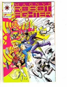 Magnus Robot Fighter # 11 NM Valiant Comic Book 1st Print Pre-Unity J256