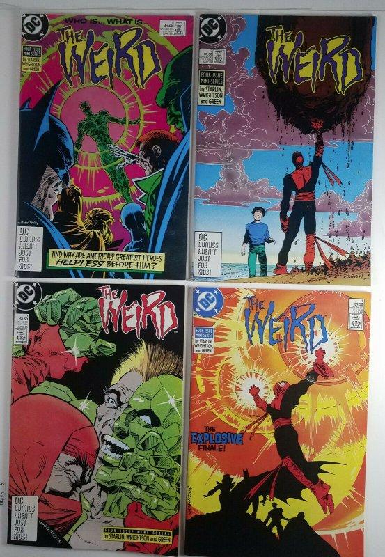 The Weird 1988 Complete Full Run 1,2,3 & 4 DC Comics High Grade 1st Print 9.0+