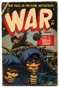 War Comics #31 1954- Atlas Golden Age- Troy VG