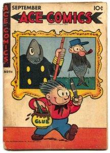 Ace Comics #114 1946- PHANTOM- Prince Valiant VG
