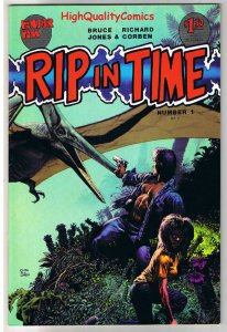 RIP IN TIME #1, VF, Richard Corben, Fantagor,Dinos,1986, more RC in our store