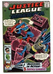 JUSTICE LEAGUE OF AMERICA #52 comic book 1967 DC VF+