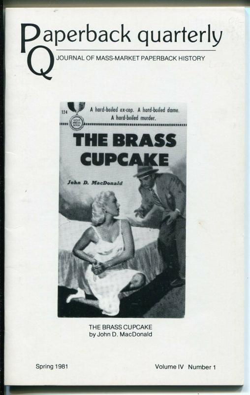 Paperback Quarterly Spring 1981-John D MacDonald-Jim Steranko-VF