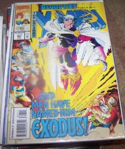 UNCANNY X-MEN #307 1993 MARVEL BLOOD TIES PT 4 AVENGERS MAGNETO EXODUS