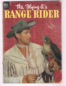 The Flying A's Range Rider #6 GD Dell Comic Book 1954 DE8
