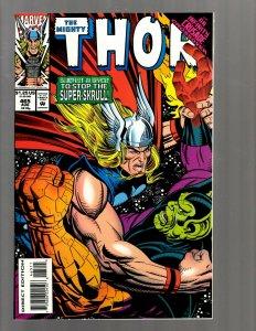 12 Thor Marvel Comics # 465 466 467 468 469 470 471 472 473 474 475 476 GK39