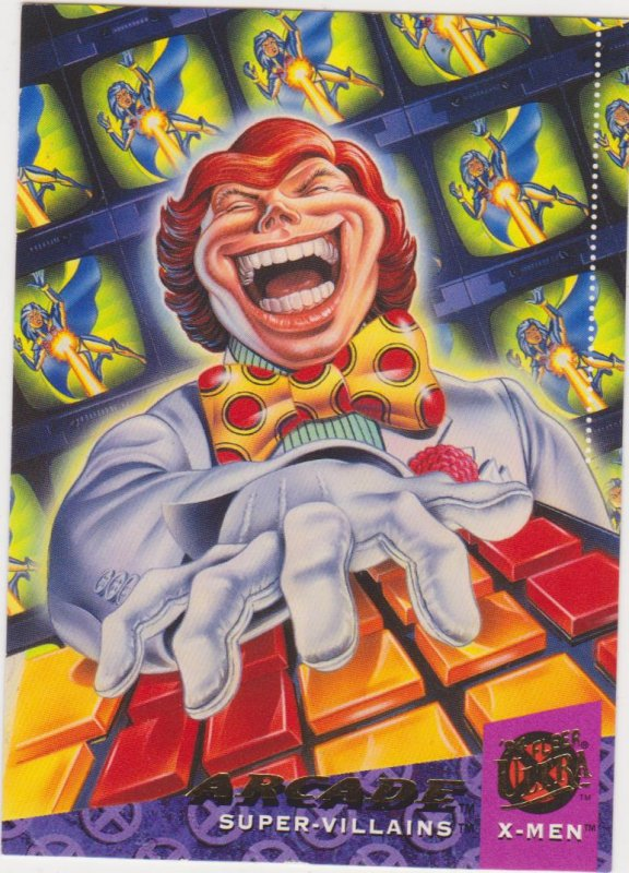 1994 Fleer Ultra X-Men Card #72 Arcade