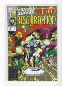 Silver Surfer/ Warlock Ressurection #1 Drax Gamora Pip Moondragon NM+